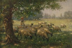 The Shepherdess by William Kay Blacklock