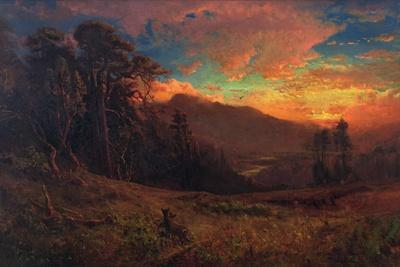 An Autumnal Sunset on the Russian River, 1878