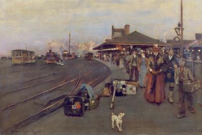 Stirling Station, 1888