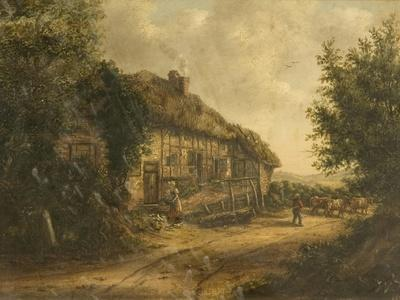 Cottages at Petersfield Hampshire, 1839