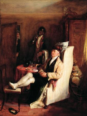 Indulging, 1832 (Panel)