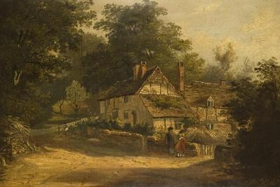 Old Cottages at Petersfield, 1820