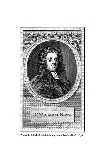William King, English Poet--Giclee Print