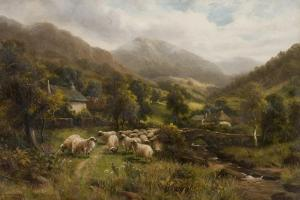 Aber, North Wales by William Langley