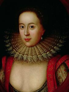 Portrait of Frances Howard (1590-1632) Countess of Somerset, circa 1615 by William Larkin