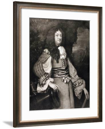 William Legge, from 'Memoirs of the Martyr King' by Allan Fea, Published 1905--Framed Giclee Print