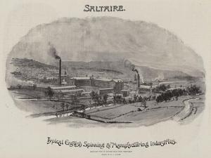 Advertisement, Saltaire by William Lionel Wyllie