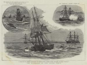 The Blockade of the Greek Ports by William Lionel Wyllie