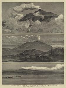 The Eruption of Mount Etna by William Lionel Wyllie