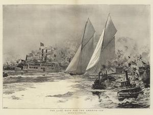 The Last Race for the America Cup by William Lionel Wyllie
