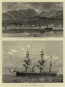 The Loss of H M S Doterel by William Lionel Wyllie