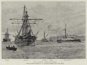 The Naval Mobilisation by William Lionel Wyllie