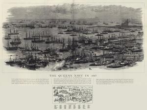 The Queen's Navy in 1887 by William Lionel Wyllie