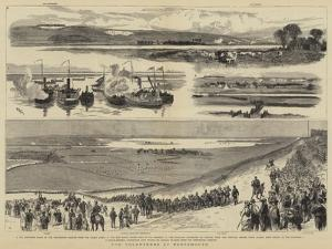 The Volunteers at Portsmouth by William Lionel Wyllie