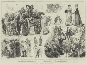 The Carnival at Dusseldorf by William Lockhart Bogle