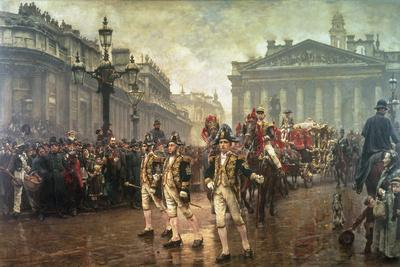 Sir James Whitehead's Procession, 1888