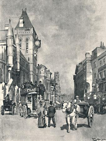 'Fleet Street, Showing the Law Courts', 1891
