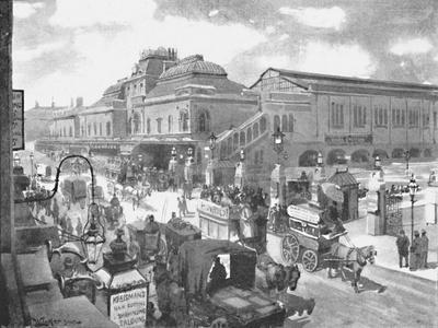 'Liverpool Street Station', 1891