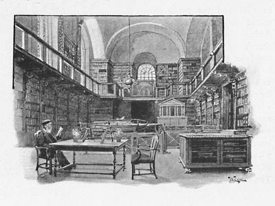 'The Library, St. Paul's Cathedral', 1891