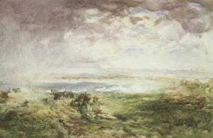 Scottish Shore, 19th Century by William Mactaggart