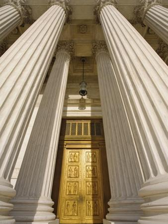 Bronze Doors of United States Supreme Court by William Manning