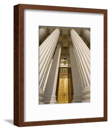 Bronze Doors of United States Supreme Court