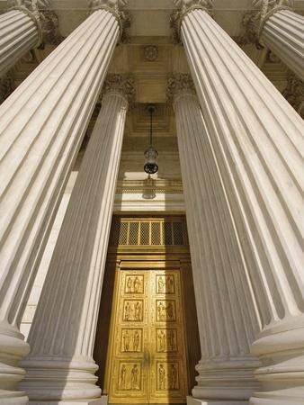 Bronze Doors of United States Supreme Court