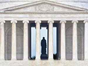 Detail of Jefferson Memorial by William Manning
