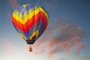 Hot Air Ballon on an Evening Flight by William Manning