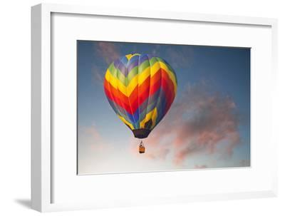 Hot Air Ballon on an Evening Flight