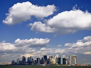 Lower Manhattan Skyline by William Manning