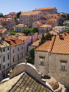 Red Terracotta Rooftops in Dubrovnik by William Manning