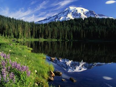 Reflection Lake and Mount Rainier