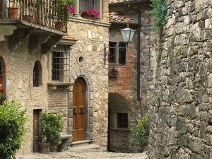 Tuscan Stone Houses by William Manning