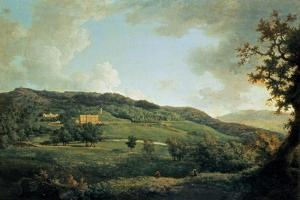 A View of Chatsworth by William Marlow