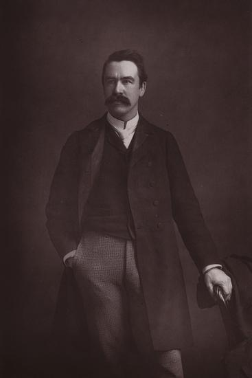 William Martin Conway, English Art Critic, Politician and Mountaineer--Photographic Print