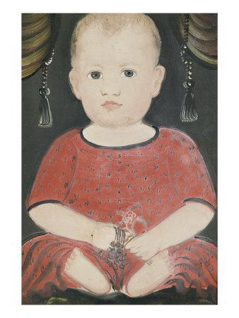 Portrait of Baby Woods, c.1840