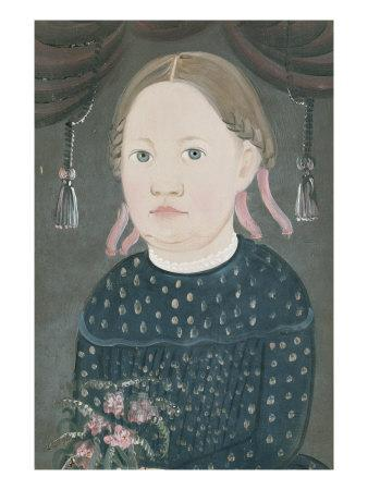 Portrait of Miss Woods, c.1840
