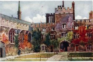 Jesus College by William Matthison