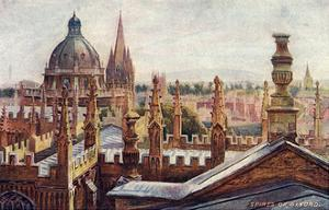 Oxford, Dreaming Spires by William Matthison