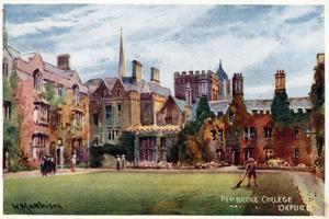Pembroke College by William Matthison