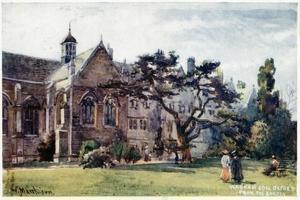 Wadham College from the Garden by William Matthison