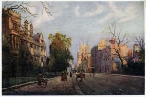 Wadham College by William Matthison