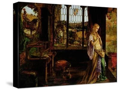 The Lady of Shalott, 1858