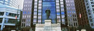 William McKinley Statue, Capitol Square, Columbus, Ohio, USA
