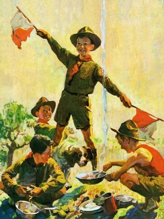"""Boy Scouts,""September 1, 1930"