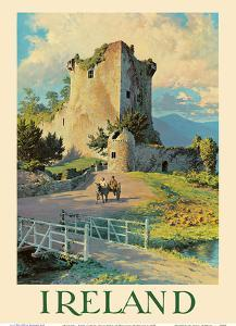 Ireland - Ross Castle, Killarney by William Medcalf