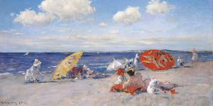 At the Seaside, c.1892 by William Merritt Chase