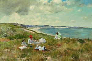 Idle Hours by William Merritt Chase