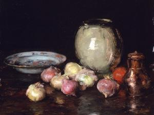 Just Onions, 1912 by William Merritt Chase